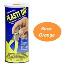 Blaze Orange 145oz Performix Plasti Dip Plastic Rubber Grip Coating Handle
