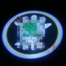 """2x Projektor Autotürlampe Skoda Octavia BJ 07-15 mit """"Skoda"""" Logo Einstiegslicht"""