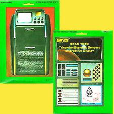 Vintage Star Trek Tricorder/Starship Sensors Interactive Display FASA Role Play