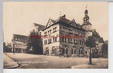 (93170) Foto AK Nordhausen, Thür., Rathaus, Buchhandlung 1929