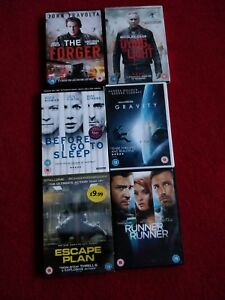 Selection Of 6 Action DVDs