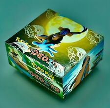 Pokemon Ex Deoxys Booster Box English Sealed - Rayquaza gold star?
