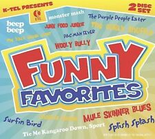VARIOUS ARTISTS - K-TEL PRESENTS FUNNY FAVORITES NEW CD