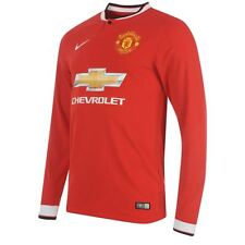 Nike Manchester United 2014-15 Long Sleeve Home Shirt SIZE XL