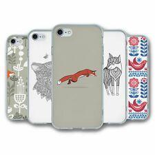 Para iPhone 7 & 8 Silicona Funda Cubierta Fox Colección 5