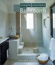 Simple Solutions: Bathrooms by Coleen Cahill (2001, Paperback)