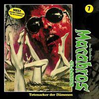 DAN SHOCKER - MACABROS CLASSICS-TOTENACKER DER DÄMONEN FOLGE   CD NEW