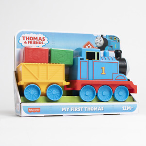 My First Thomas & Friends Large Tank Engine Train Real Whistle Sound.