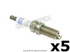 Volvo C30 C70 S40 S60 V50 V70 (2004-2013) Spark Plug (5) BOSCH OEM + Warranty