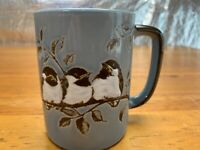 Otagiri Jonah's Workshop Chickadee Birds Coffee Mug Cup Japan