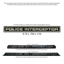 For Crown Victoria Police Interceptor Emblem Decal Explorer Taurus Fleet Quality