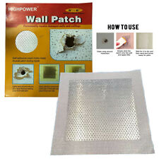 "8x8""Self adhesive Wall Patch Stick Mesh Dry Repair For Walls Ceiling Plastering"
