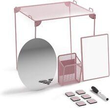 U Brands Locker Organizer and Decorating Kit, Back to School Essentials, Blush