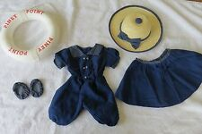 American Girl Doll Samantha 1904 Bathing Swimsuit Costume~1st version~Free Ship