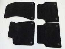 Original Audi A6 4F Fußmatten Teppich komplett braun / schwarz Audi Exclusive