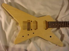 Unfinished rg jem Guitar Body - Star Destroyer - Fits Ibanez (tm)  RG Necks