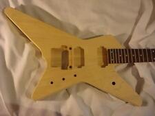 Unfinished rg jem Guitar Body - Star Destroyer - Fits Ibanez (tm)  RG Necks