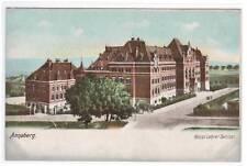 Konigl Lehrer Seminar Annaberg Germany 1905c postcard