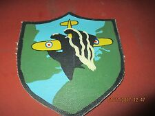 WWII LUFTWAFFE FIGHTER 1/JG52 HAND CRUSHING SPITFIRE  FLIGHT JACKET PATCH