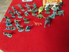 Lot of Oldschool Army Men, Ninjas & Dinosaurs wholesale