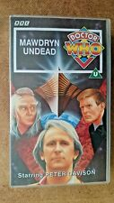 Doctor Who - Mawdryn Undead (VHS 1992) - Peter Davidson