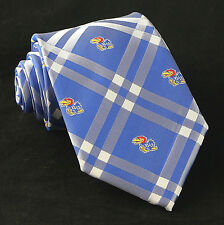 Kansas Jayhawks Mens Necktie University College Eagles Wings Rhodes Neck Tie New