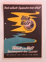 Kino # Verleihprogramm # Verleihstaffel # Pallas Filmverleih # Jahrgang 1957/58