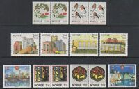 Norway - 1985/6, 14 x Issues - MNH
