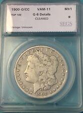 1900 O/CC VAM 11 Morgan Silver Dollar $1 TOP 100 VAM