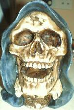 Latex Craft Mould To Make Hooded Gothic Skull Ornament Art & Crafts Hobby