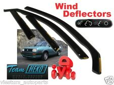 Wind deflectors VW GOLF II / JETTA 4.doors  09/87 - 09/91  4.pc HEKO 31140