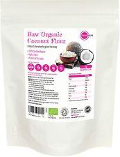 Organic Certified Coconut Flour 1kg Gluten Free Baking 1000g Pure Raw Fine Paleo