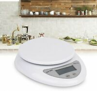 Electronic Weighing Scales For Home Kitchen Appliances LED Weighing Tool White