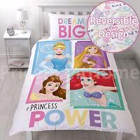Disney Princess Brave Set Housse de Couette Simple 2 en 1 Parure Filles