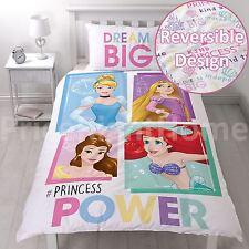 Disney Princess Brave Single Duvet Cover Set 2 in 1 Girls Bedding