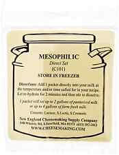 NEW New England Cheese Making Supply Co. Mesophilic Direct Set Cheese Culture,