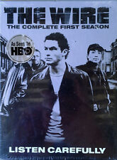 THE WIRE - THE COMPLETE FIRST SEASON - (5) DVD BOX SET - STILL SEALED