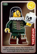 Thespian #129 Sainsbury's Create The World Lego Minifigures Card (C381)