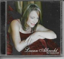 Leeann Albrecht The Greatest Gift 2006 High Hill Music CD Christmas Mark Baldwin