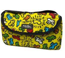 Keith Haring Bumkins Bag Travel Case Pouch Organized Nylon Pop Art RARE