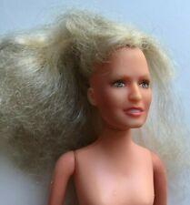 "Vintage 1977 Hasbro Farah Fawcett Majors 8"" Nude Doll Charlie'S Angels"