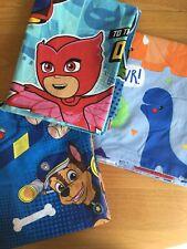 Paw Patrol, PJ Masks, Dinosaur Toddler Duvet Cover Set Bundle