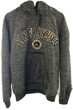 San Francisco City by the Bay Golden State CALI Charcoal Embroidered Size Large