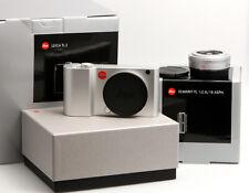 Leica TL2 silbern eloxiert Set mit Elmarit-TL 1:2,8/18mm silbern eloxiert OVP