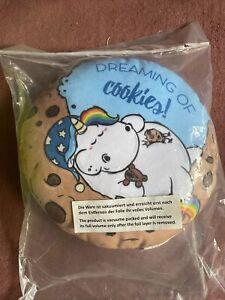 Pummeleinhorn Wende Kissen Dreamliner Of Cookies! Rund Sofa Kissen déco Kissen