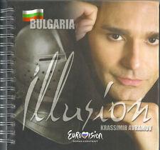 CD AND DVD PROMO EUROVISION BULGARIA 2009 KRASSIMIR AVRAMOV ILLUSION