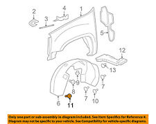 GM OEM-Fender Liner Bolt 11570498