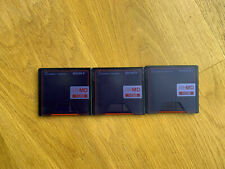 3x Minidisc 1go Sony Hi-MD