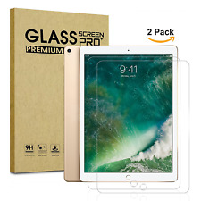 "Premium HD Tempered Glass Screen Protector for iPad Pro 12.9"" (2017) - 2 pack"