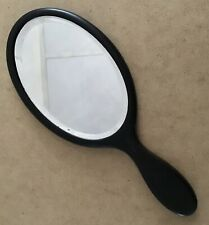 Antique Real Ebony Victorian / Edwardian Handheld 12� Mirror